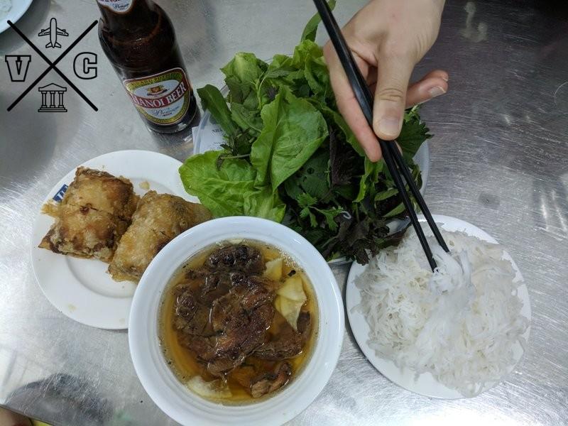 Restaurante donde comió Obama en Hanoi