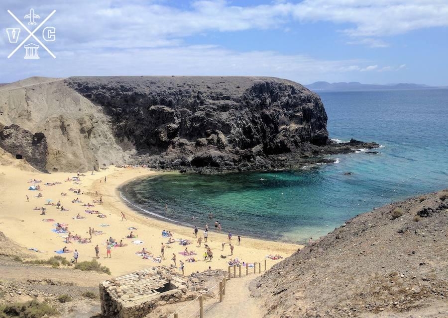 playas de lanzarote papagayo