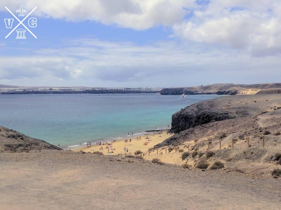 playas de lanzarote la cera