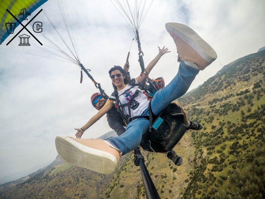 Volando sobre Pamukkale