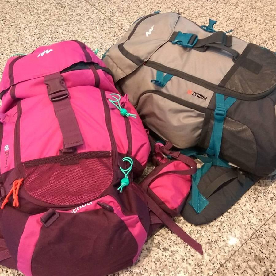 mochila para viajes