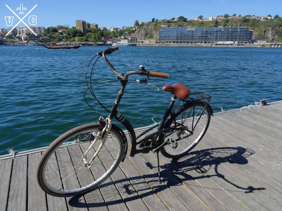 Duero oporto bicicleta