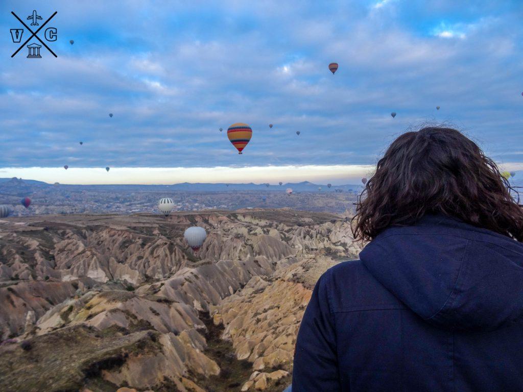 Montar en globo en la Capadocia