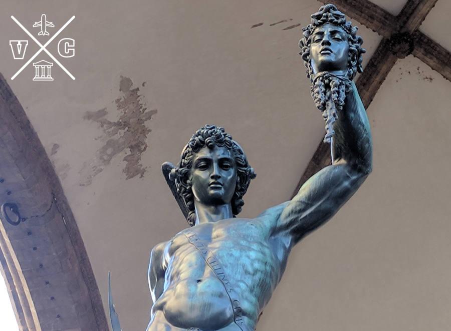 Perseo Medusa Florencia
