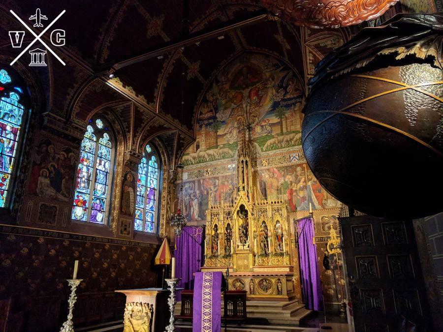 Basílica de la sangre brujas